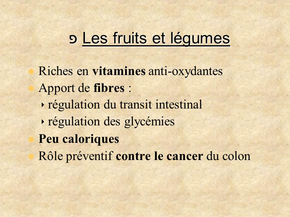 fruits riches en fibres