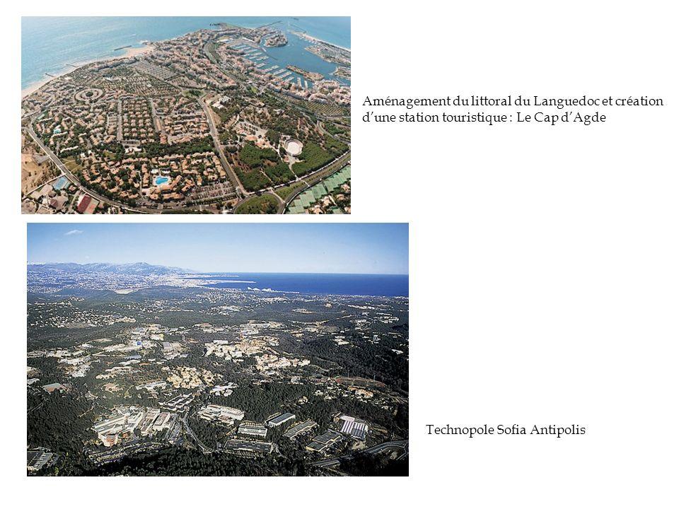 Aménagement du littoral du Languedoc et création d'une station touristique : Le Cap d'Agde