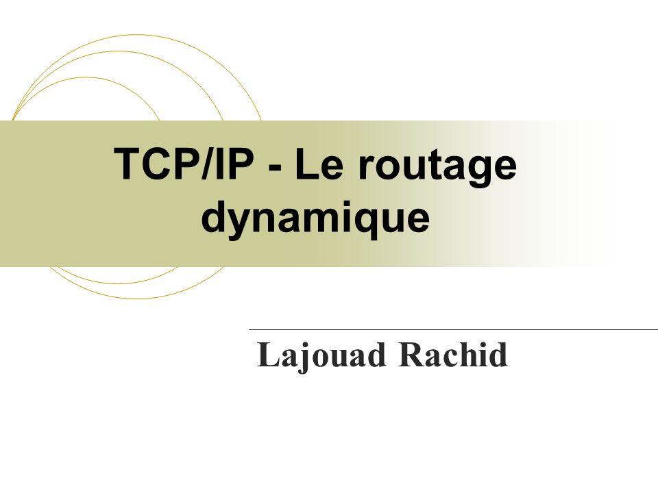TCP/IP - Le routage dynamique