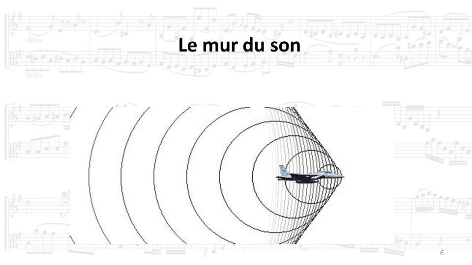 Le mur du son