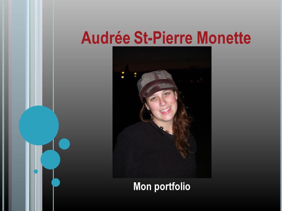 Audrée St-Pierre Monette