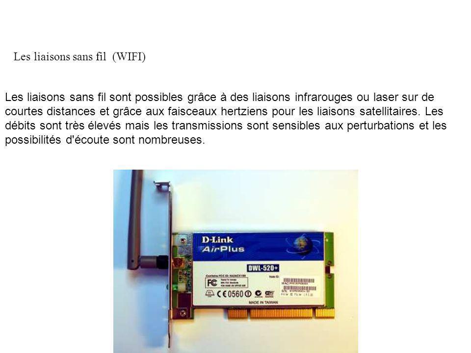 Les liaisons sans fil (WIFI)