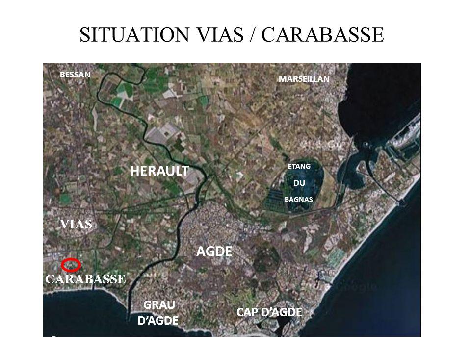 SITUATION VIAS / CARABASSE