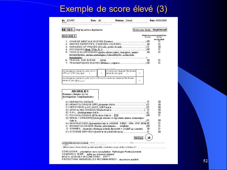 Exemple de score élevé (3)