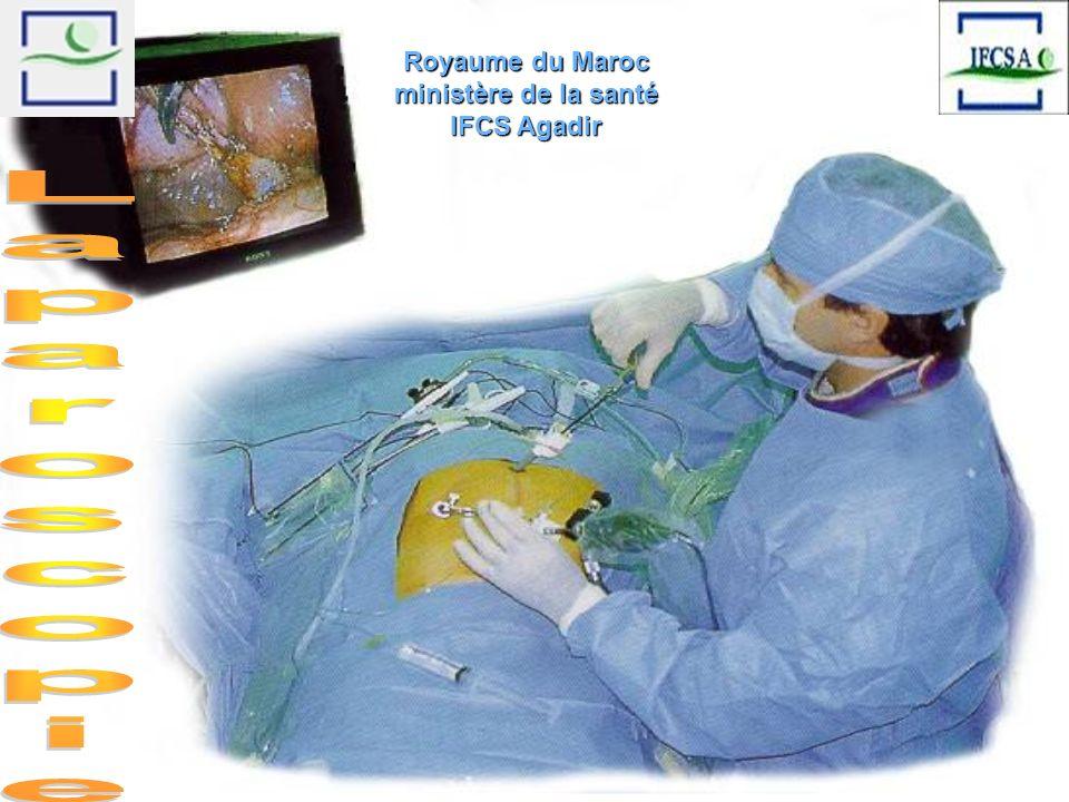 Royaume du Maroc ministère de la santé IFCS Agadir