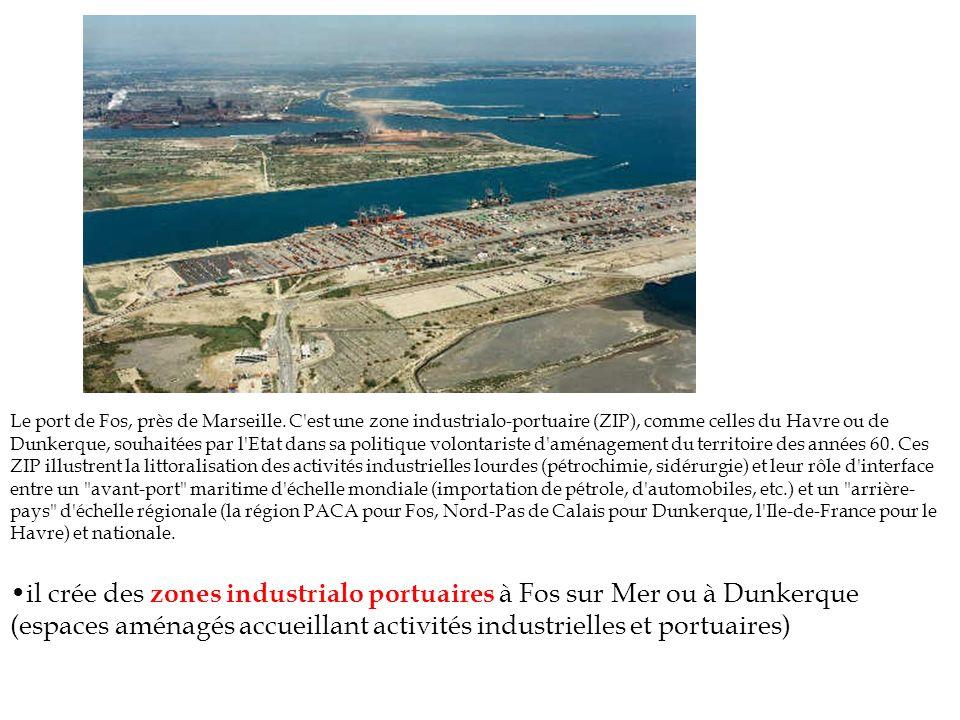 Le port de Fos, près de Marseille