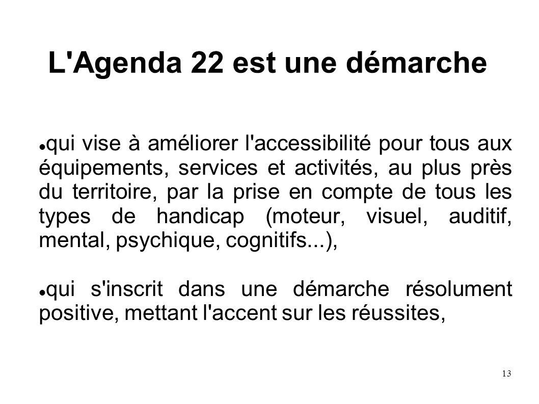 L Agenda 22 est une démarche