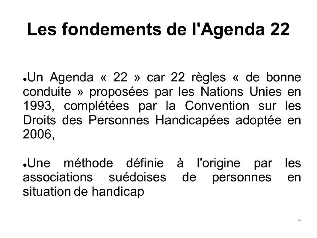 Les fondements de l Agenda 22