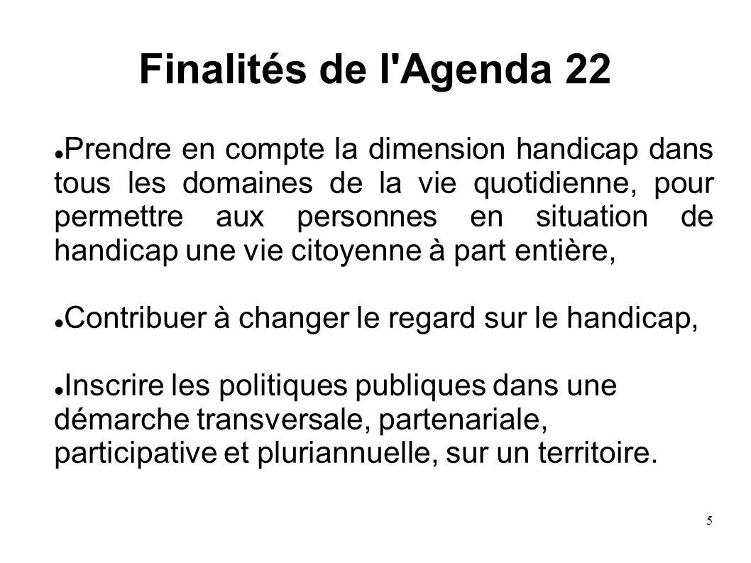 Finalités de l Agenda 22
