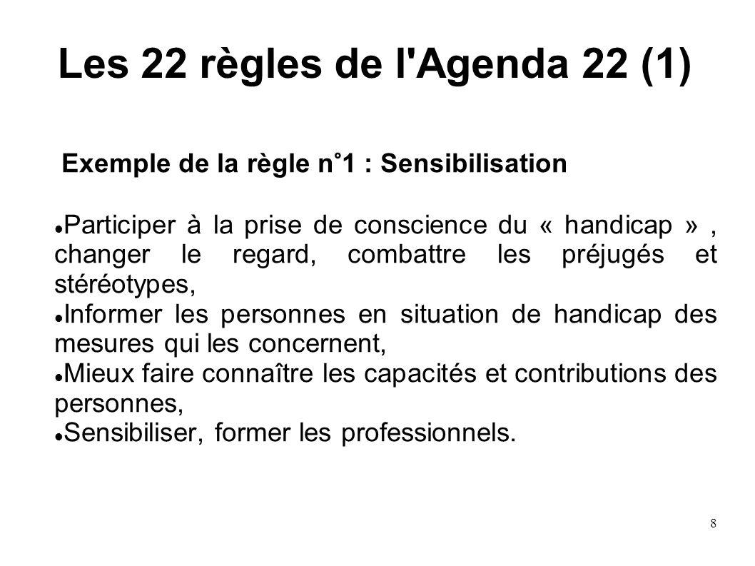 Les 22 règles de l Agenda 22 (1)