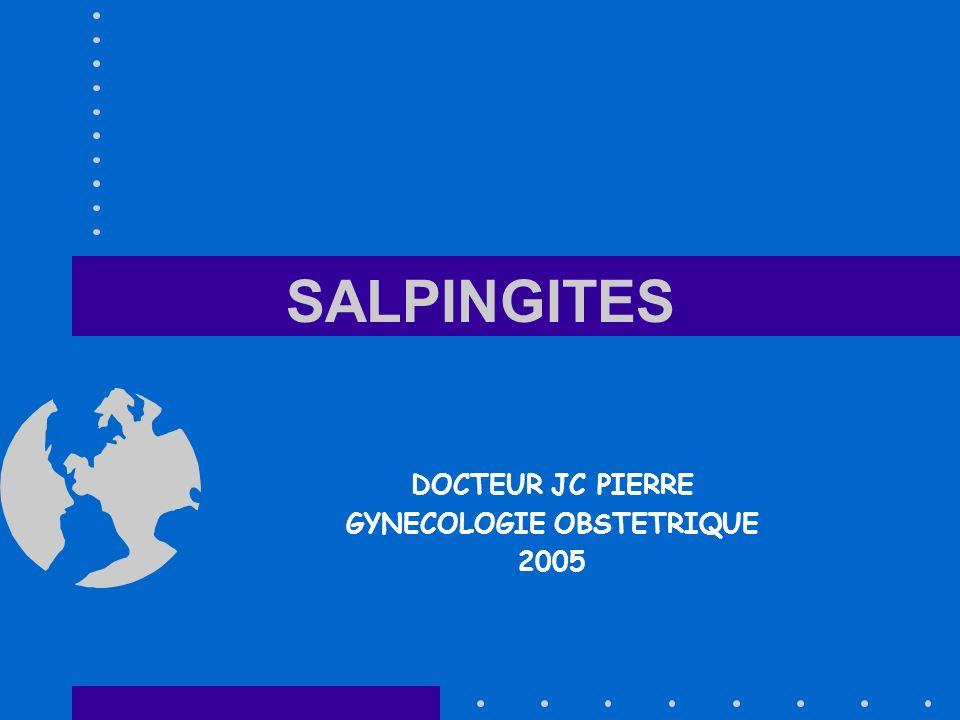 DOCTEUR JC PIERRE GYNECOLOGIE OBSTETRIQUE 2005