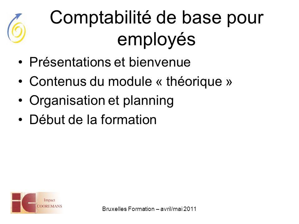 Comptabilité de base pour employés