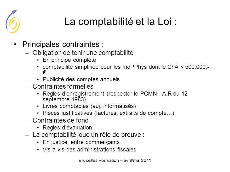 La comptabilité et la Loi :