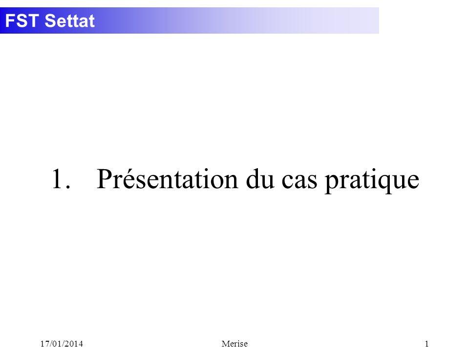 1. Présentation du cas pratique
