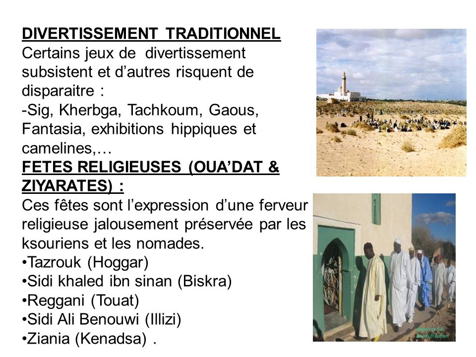 DIVERTISSEMENT TRADITIONNEL