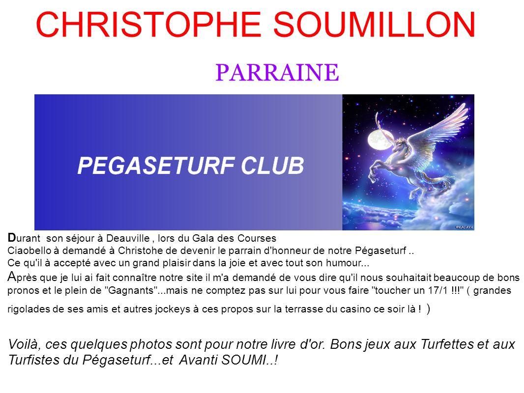CHRISTOPHE SOUMILLON PARRAINE