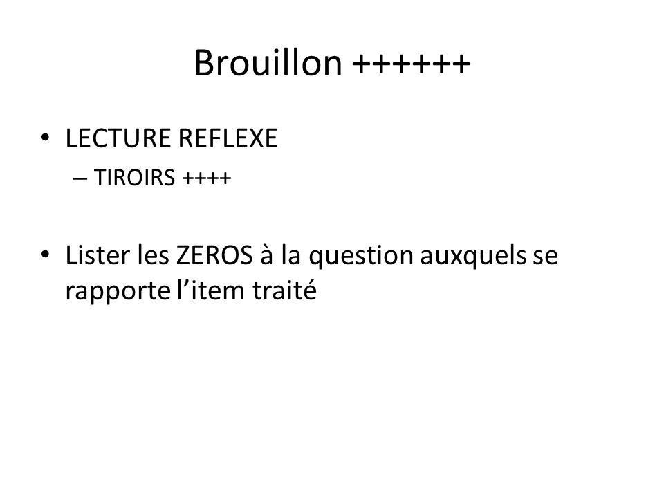 Brouillon ++++++ LECTURE REFLEXE