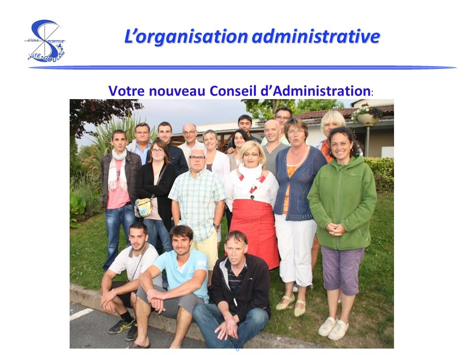L'organisation administrative