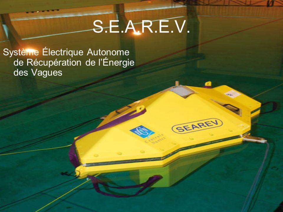 S.E.A.R.E.V. Système Électrique Autonome de Récupération de l'Énergie des Vagues
