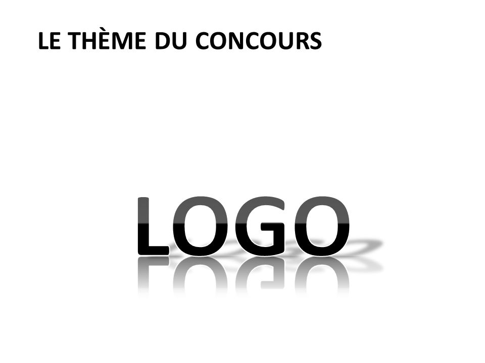 Le thème du concours LOGO