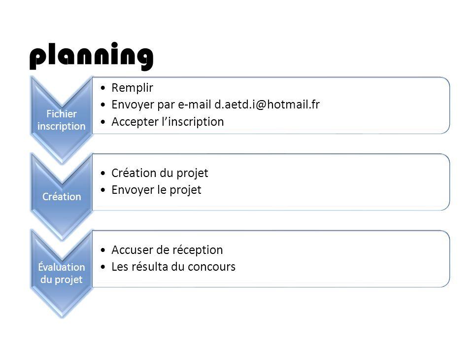 planning Remplir Envoyer par e-mail d.aetd.i@hotmail.fr