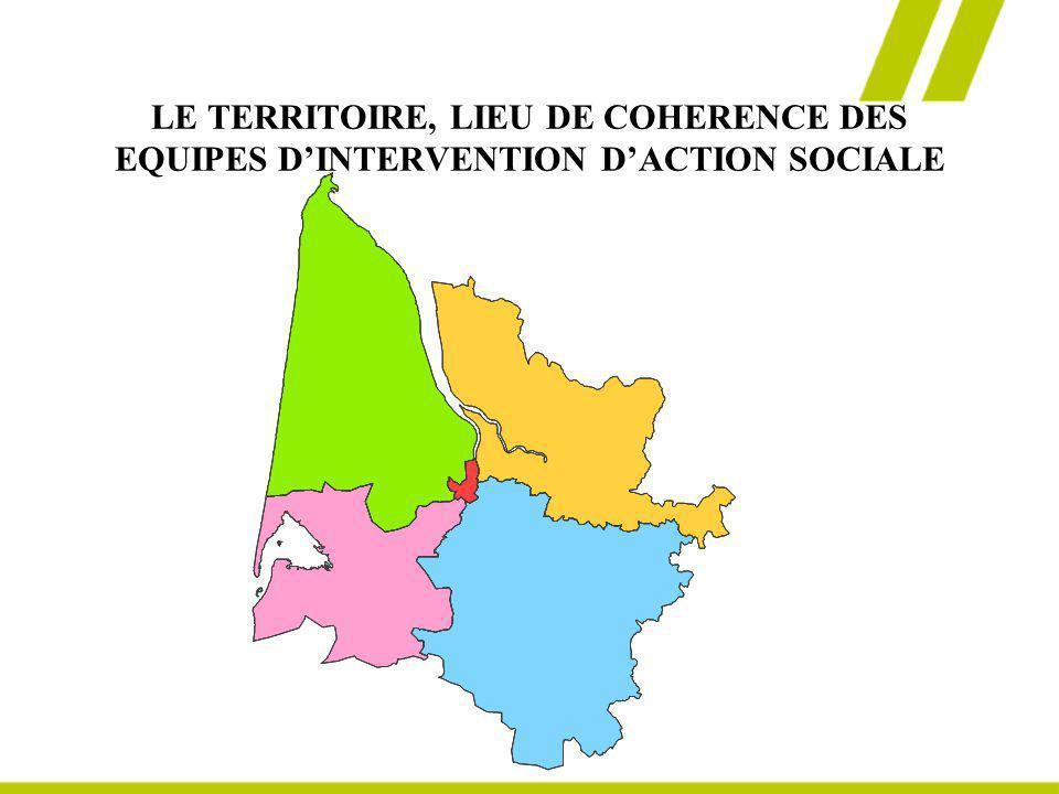 LE TERRITOIRE, LIEU DE COHERENCE DES EQUIPES D'INTERVENTION D'ACTION SOCIALE