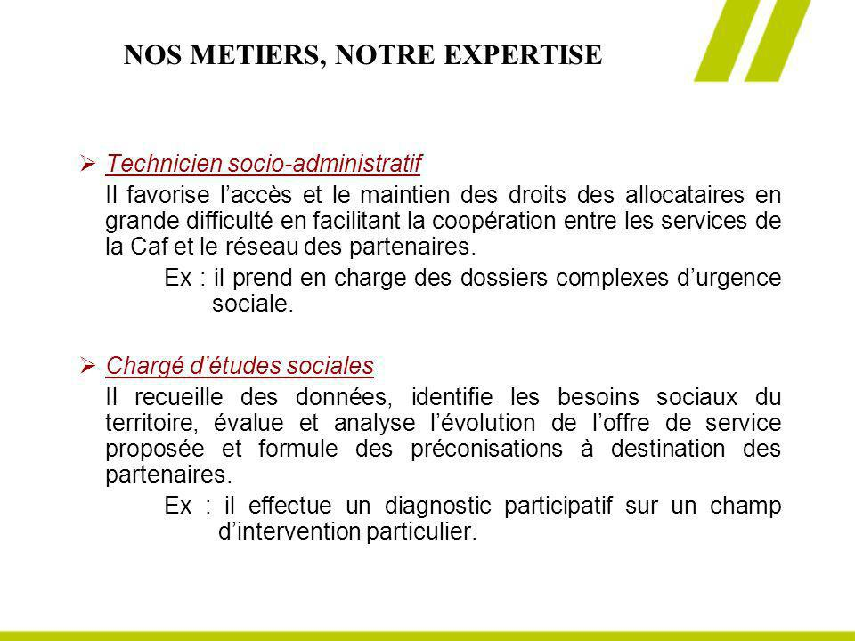 NOS METIERS, NOTRE EXPERTISE