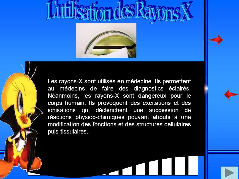 L utilisation des Rayons X
