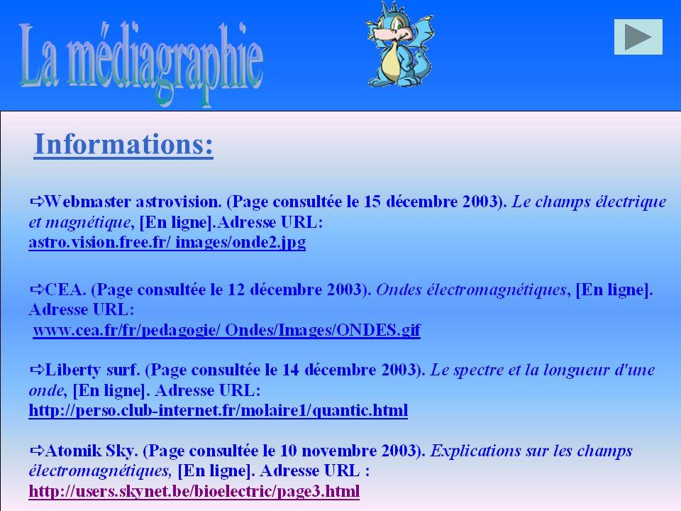 La médiagraphie Informations: