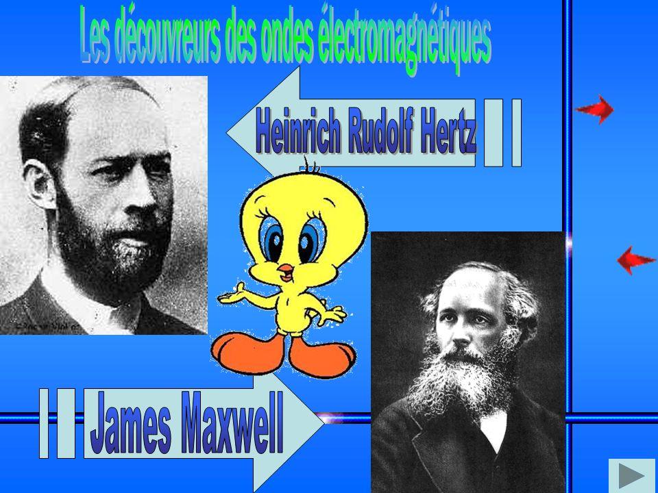 Les découvreurs des ondes électromagnétiques