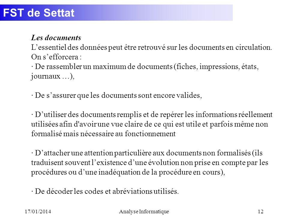 · De s'assurer que les documents sont encore valides,