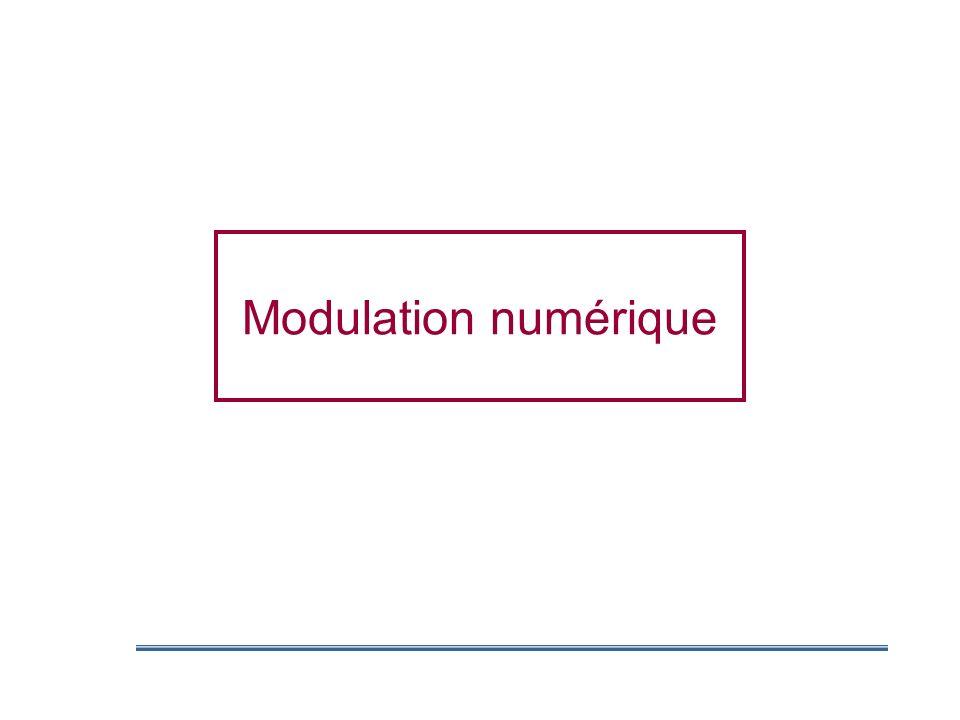 Modulation numérique
