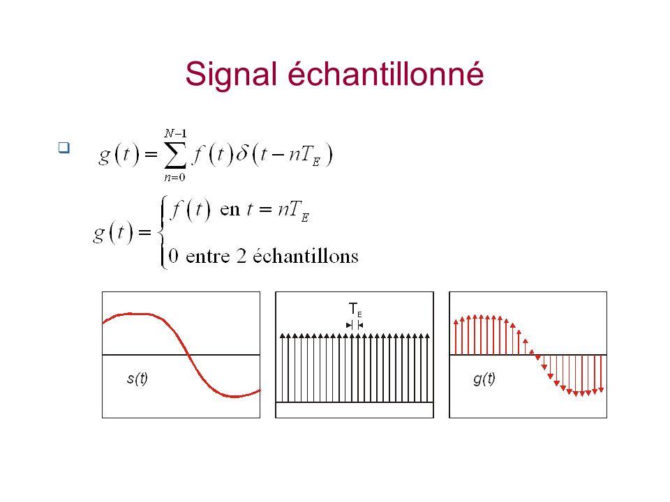 Signal échantillonné