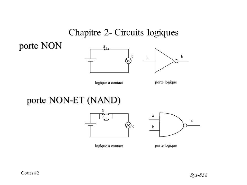 Jamais relier une entr e du c t n gatif ppt t l charger for Porte nand transistor