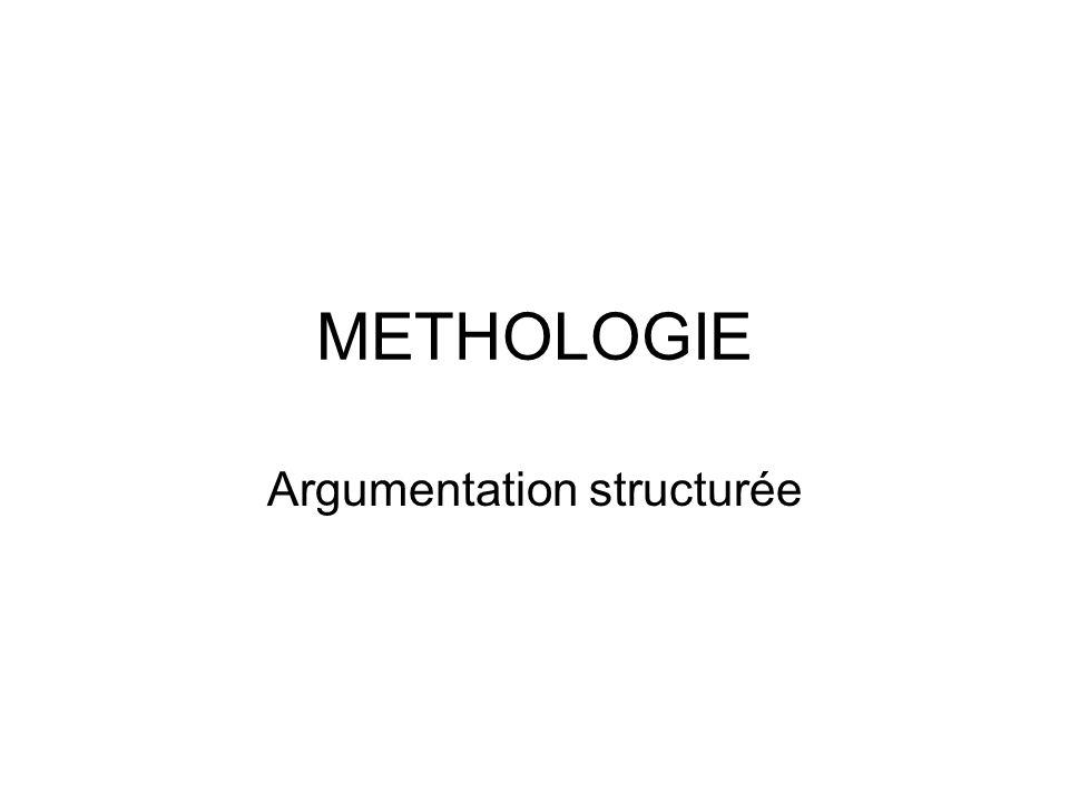 Argumentation structurée