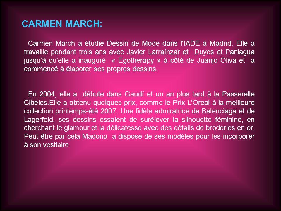 CARMEN MARCH: