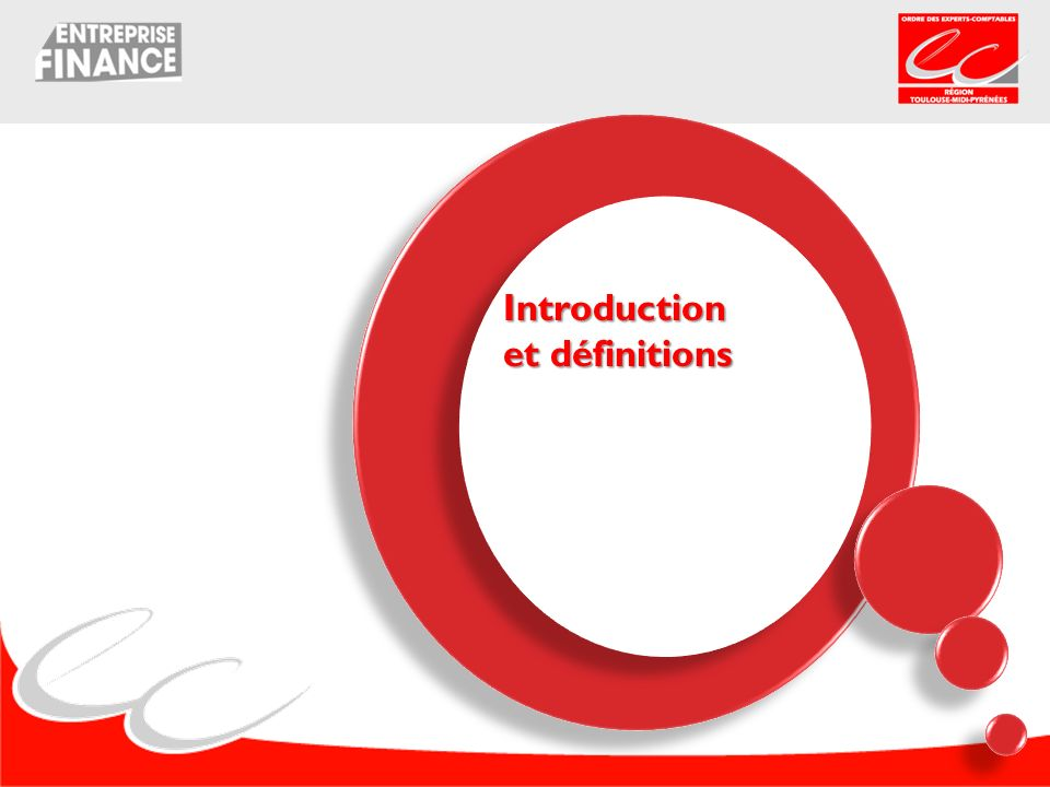 Introduction et définitions