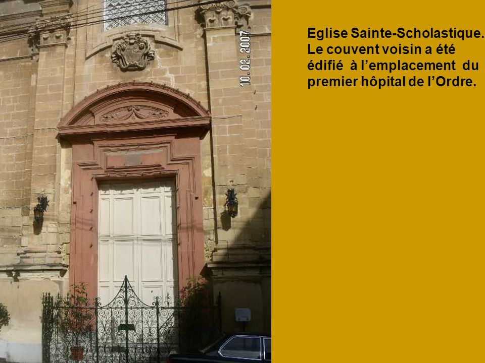 Eglise Sainte-Scholastique.