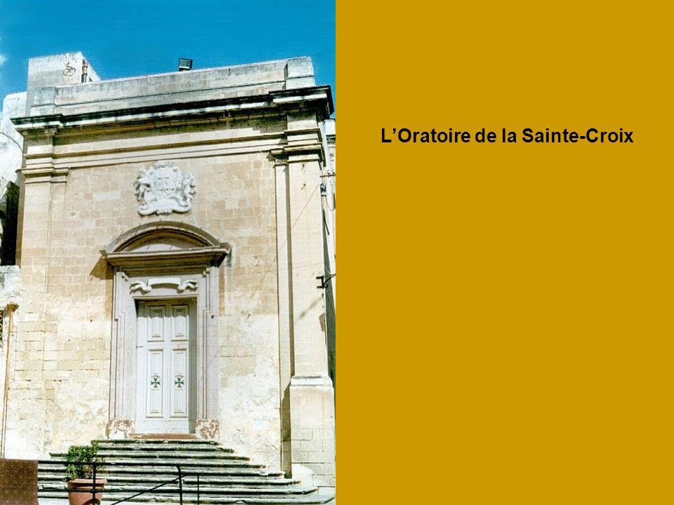 L'Oratoire de la Sainte-Croix