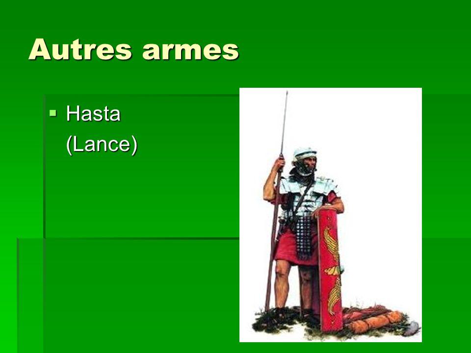Autres armes Hasta (Lance)