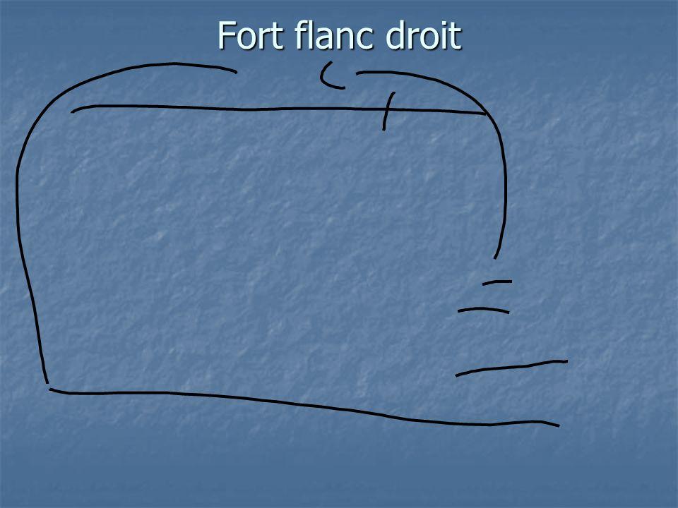 Fort flanc droit