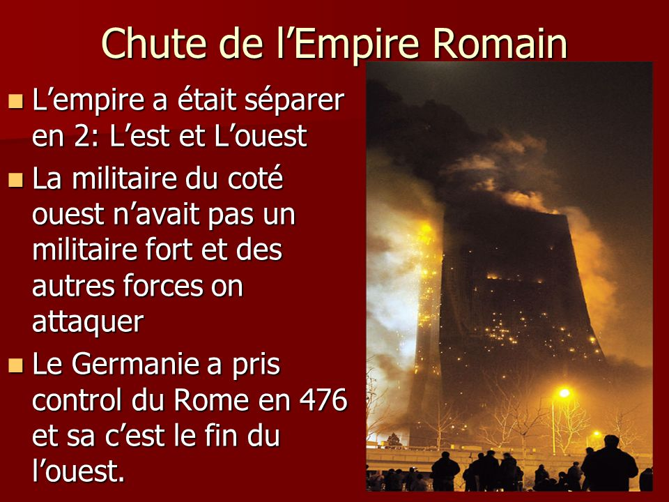 Chute de l'Empire Romain