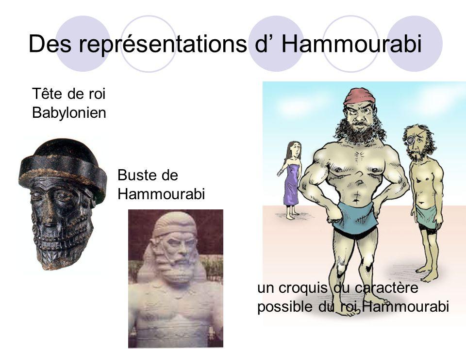 Des représentations d' Hammourabi