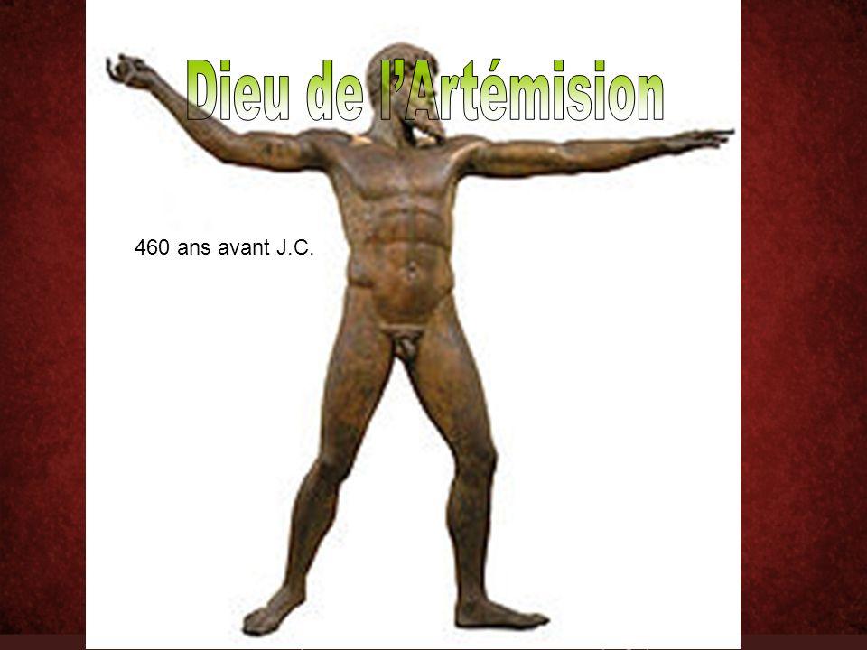 Dieu de l'Artémision 460 ans avant J.C.