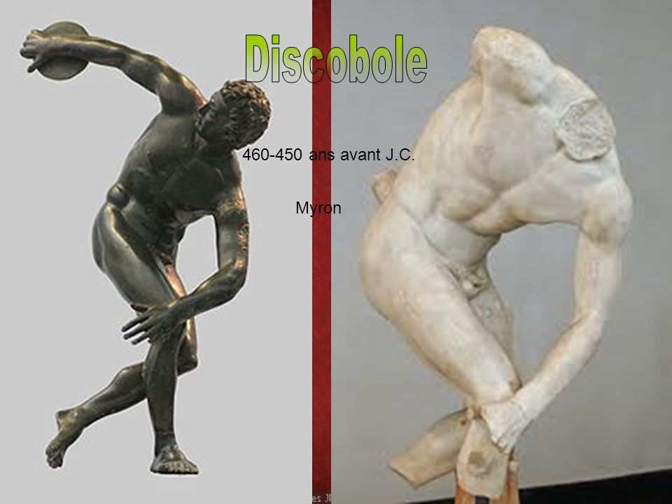Discobole 460-450 ans avant J.C. Myron