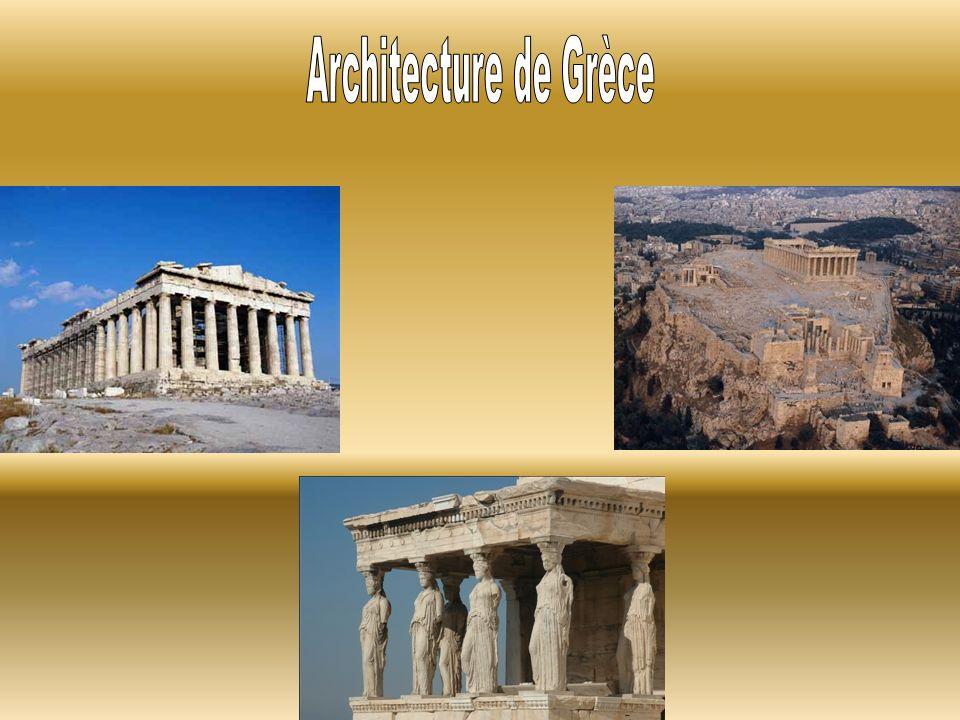Architecture de Grèce