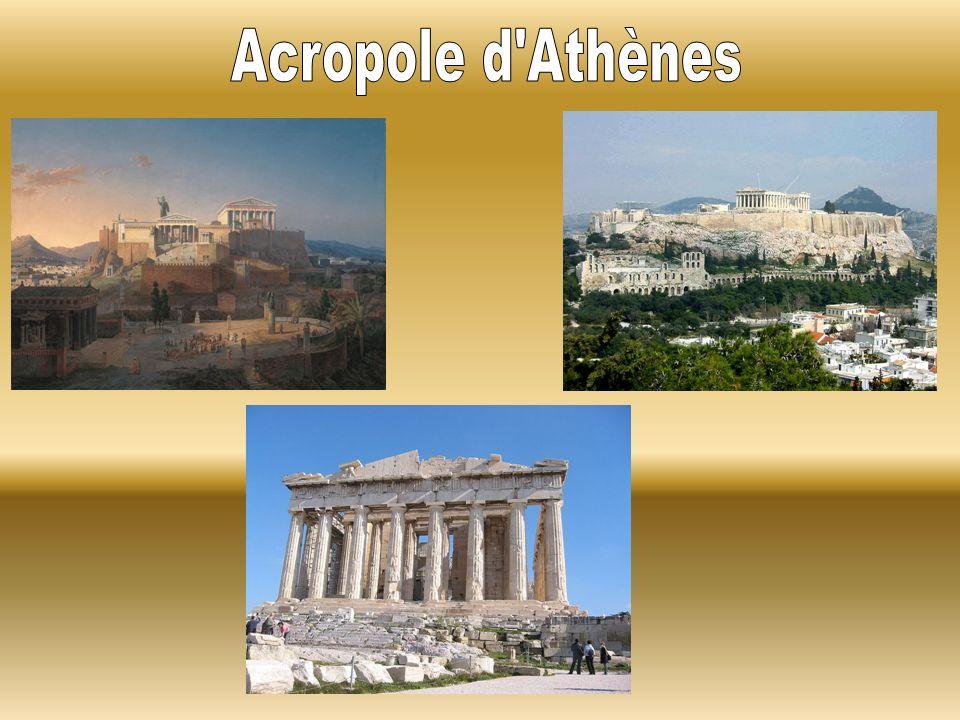 Acropole d Athènes