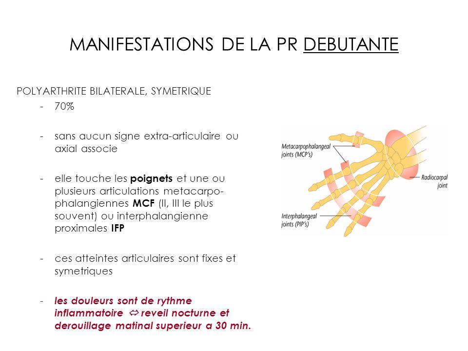 MANIFESTATIONS DE LA PR DEBUTANTE