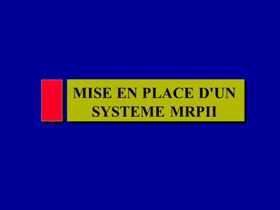MISE EN PLACE D UN SYSTEME MRPII