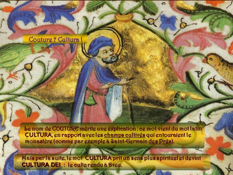 Couture Cultura ! Vue du chœur de l'église de la Couture